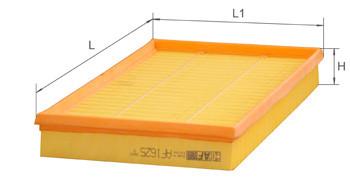Фильтр воздушный Alpha Filter AF1625 (AP 152)