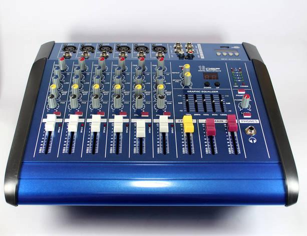 Аудио микшер Mixer BT-6200D 7ch., микшерный пульт, фото 2