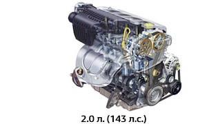 Двигатель F4R 2.0i 16V