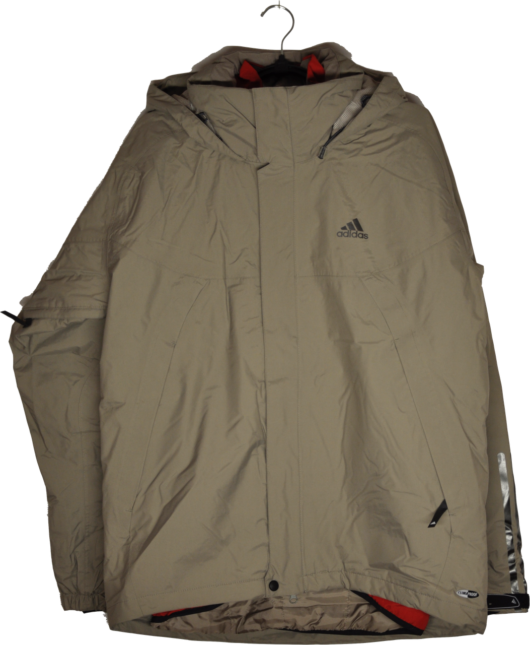 Мужская демисезонная куртка 3 в 1 Adidas ClimaProof.