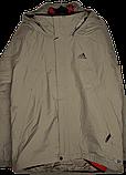 Мужская демисезонная куртка 3 в 1 Adidas ClimaProof., фото 2