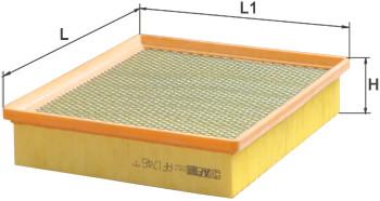 Фильтр воздушный Alpha Filter AF1746S (AP 137/4)
