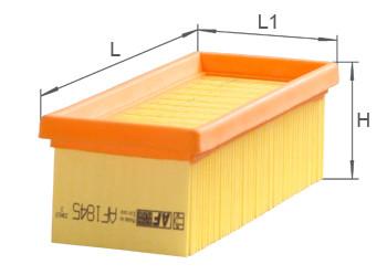 Фильтр воздушный Alpha Filter AF1845 (AP 133/2)