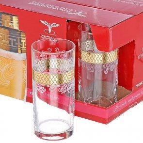 "Набор стаканов для сока 290 мл рис""Винтаж"" EAV25-402, фото 2"