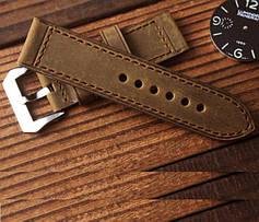 Ремешки для часов из натуральной кожи