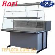 Холодильная витрина РОСС Bari K-1,2 ВС (кондитерская, настольная, с гнутым стеклом, +2…+8 С, длина 1,25м)