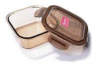 Контейнер для продуктів Fisman Luxor 520мл скляний, 13х13х5см