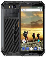 "UleFone Armor 3 black IP68, 4/64 Gb, 5.7"", Helio P23, 3G, 4G, фото 1"