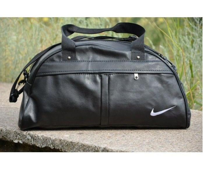 Спортивная кожаная сумка Nike