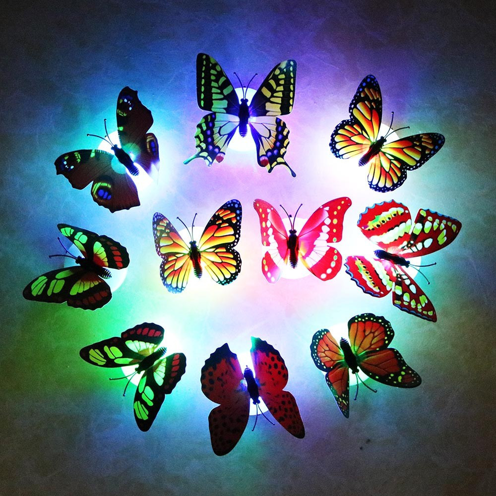 Светящаяся бабочка. Ночник