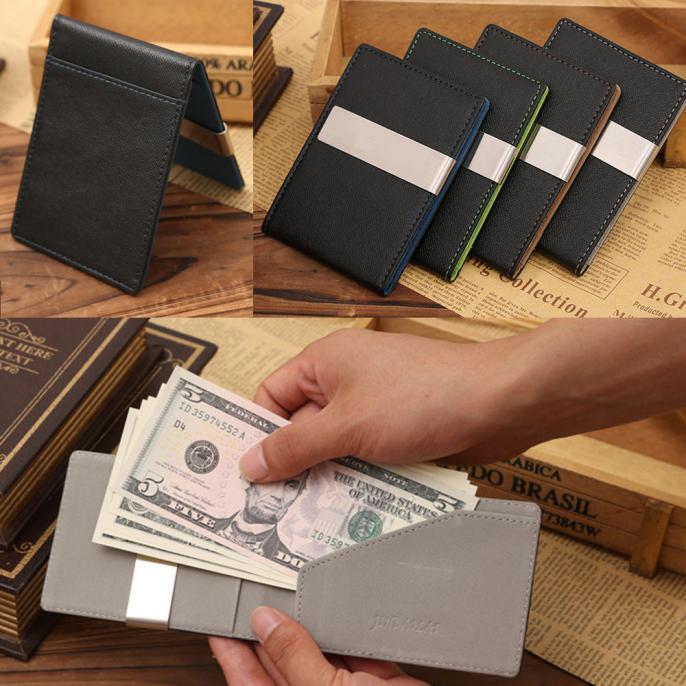 Мужской кошелек-зажим. Флип кошелек. Зажим для денег. Хит Продаж!