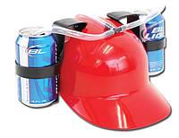 Шлем любителя пива (красный)