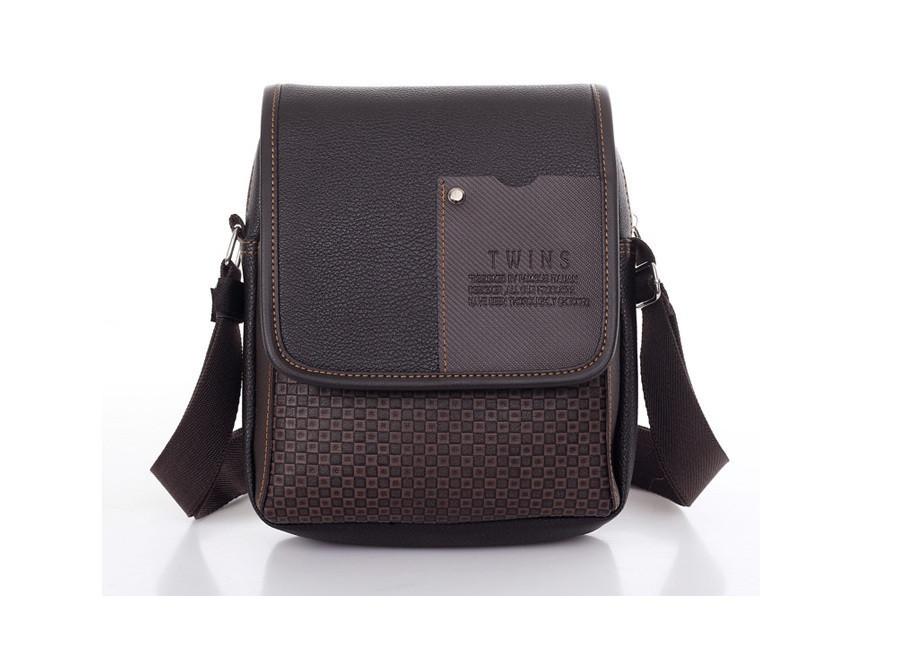 Мужская сумка через плече повседневная офисная модная стильная сумка