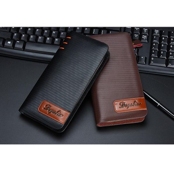 Мужской кожаный кошелек портмоне бумажник