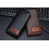 Мужской кожаный кошелек портмоне бумажник, фото 1