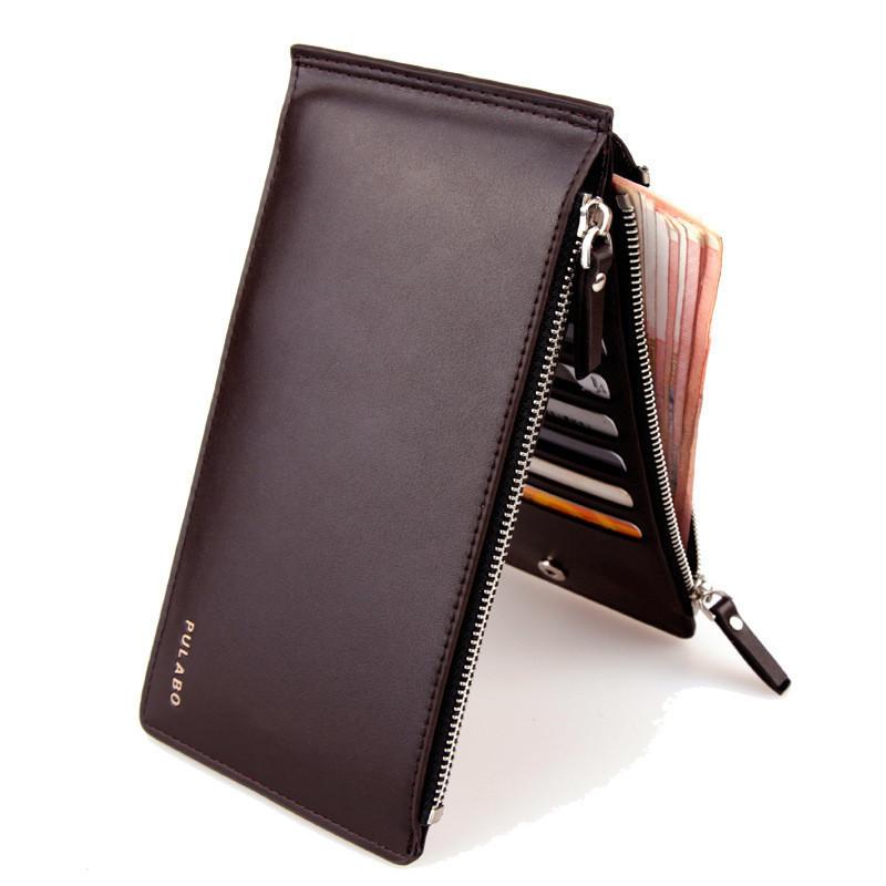 Мужское кожаное портмоне кошелек Pulabo