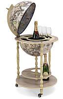 Глобус-бар напольный Zoffoli Srl, Италия «Тукано» (Ivory), h-100см, d -42см (248-0009)