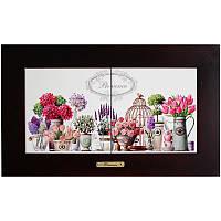 Панно настенное «Прованс. Цветы», 15х30, 38х23 см. 262-3106B