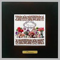 Панно настенное «Прованс. Цветы», 10х10, 18х18 см. 262-3017B