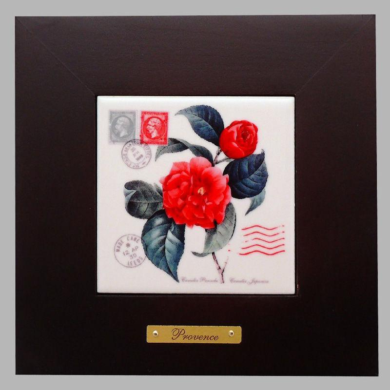 Панно настенное «Прованс. Роза», 10х10, 18х18 см. 262-3026B