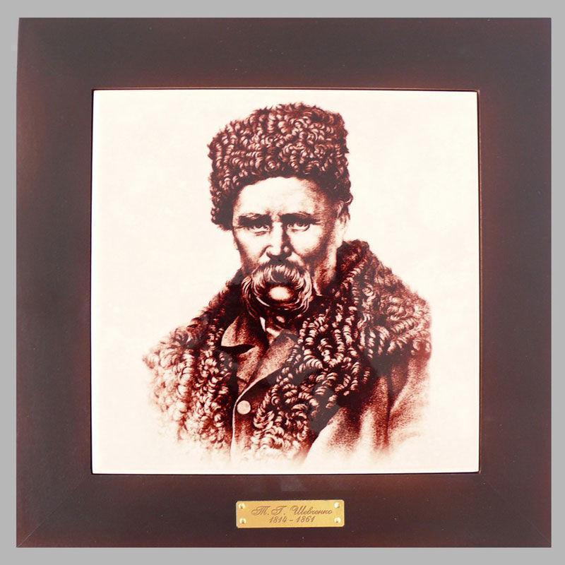 Панно настенное «Т. Г. Шевченко», 20х20, 28,5х28,5 см. (262-5027B)