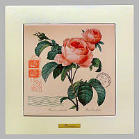 Панно настенное «Прованс. Роза», 20х20, 28х28 см. 262-5042W