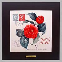Панно настенное «Прованс. Роза», 20х20, 28х28 см. 262-5044B