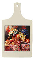 Доска для нарезки сувенирная худ. В. Галкина «Натюрморт», 32х18, 15х15 см. 262-9019