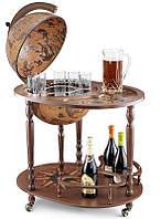 Глобус-бар напольный со столиком Zoffoli Srl, Италия «Джазон»,h-110см, d -40см (248-0006)