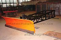 Отвал для буртования зерна на телескопический погрузчик, фото 1