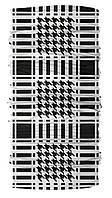 Бандана-трансформер Бафф Арафатка 1 Черно-белый BT090 1, КОД: 131973