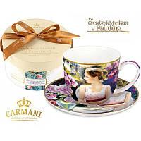 Чашка с блюдцем Carmani, 300 мл (045-0227)