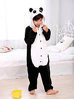 Теплая, мягкая детская пижама Панда 140см (на рост 140-150см)