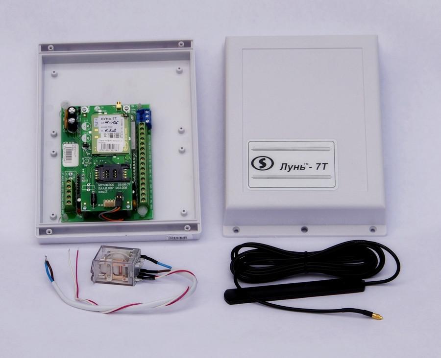 Прибор направленный на прием и контроль охранно-пожарного беспроводного канала связи GSM Лунь-7Т
