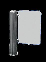 Турникет-калитка Tiso GATE-GS из полированной нержавеющей стали