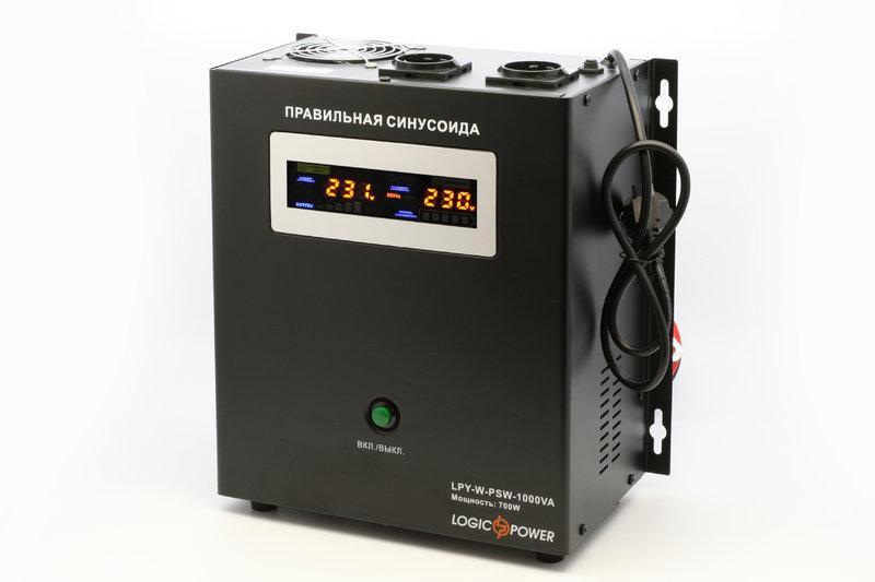 Источник бесперебойного питания LogicPower LPY-W-PSW-1000VA с синусоидой 12В