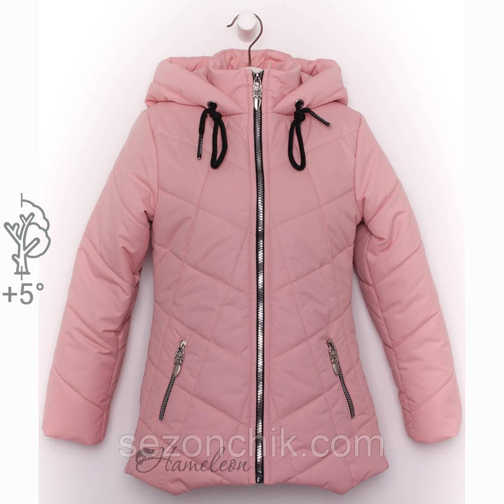 Лёгкая куртка на девочек весна осень от производителя