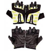 Женские перчатки для фитнеса и бодибилдинга MEX Nutrition Smart Zip Gloves Lime