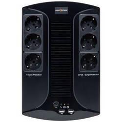 Джерело безперебійного живлення LogicPower LP 850VA-6PS