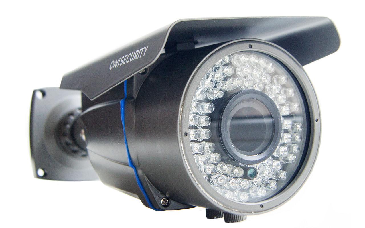 Уличная AHD камера с вариофокальным объективом и мощной ИК подсветкой CoVi Security AHD-105W-60V