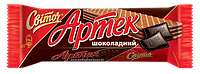 "Вафлі Артек ""Шоколад"" 80г м/у"