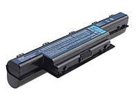 Аккумуляторная батарея для ноутбука  Acer AS10D31 10.8V 5200mah 6cell Black