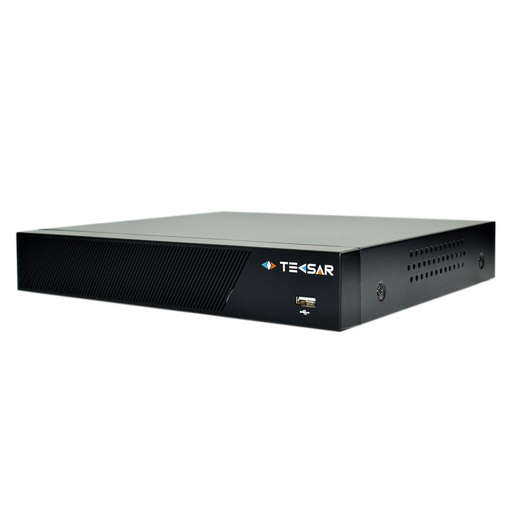 Гибридный видеорегистратор AHD Tecsar B8CH4A-HD