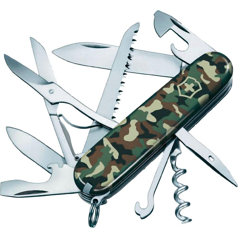 Складной надежный нож Victorinox Huntsman