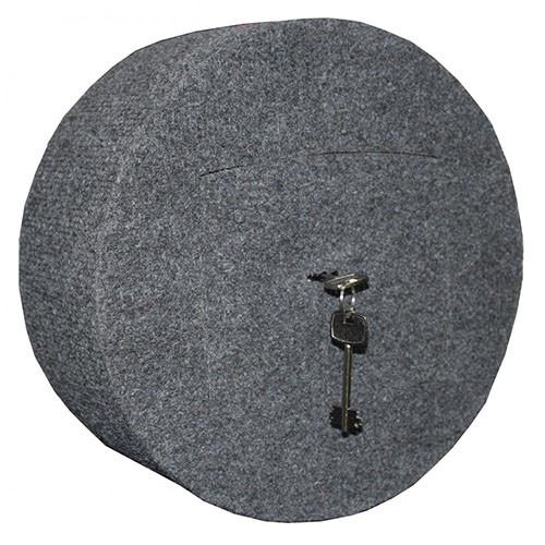 Сейф автомобильний GRIFFON A.15.K/155 grey deco