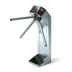 Турникет электромеханический нержавеющая полированная сталь Expert алюминий