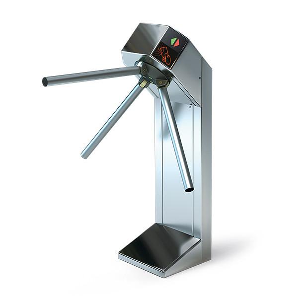 Турникет электроприводной алюминий Proxy + Proxy Expert полированная нержавеющая сталь