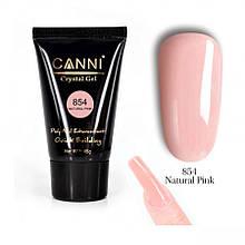Полигель CANNI №854 натуральный розовый 45 гр