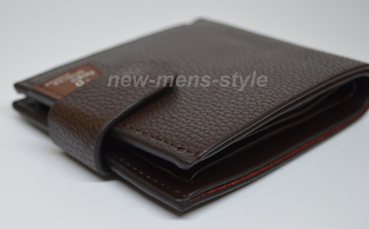44c329e905bf Мужской чоловічий кожаный кошелек портмоне бумажник гаманець Fashion 2 ...