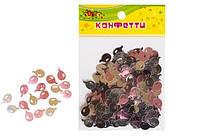 """Конфетти из фольги """"Шарики"""", блестят маленькие, 10гр розовый+серебро KIDIS"""
